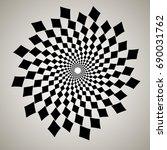 swirl  vortex background.... | Shutterstock .eps vector #690031762