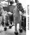 Ancient Vintage Horse  Black  ...