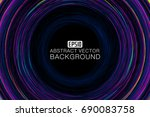 color curve consisting of... | Shutterstock .eps vector #690083758