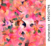 crazy seamless pattern.... | Shutterstock . vector #690165796
