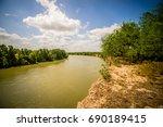 Rio Grande Texas Usa Mexico...