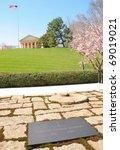 john f. kennedy grave site ...