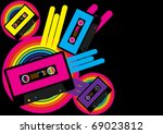 retro party background | Shutterstock . vector #69023812