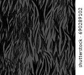 animal seamless pattern. zebra... | Shutterstock . vector #690289102
