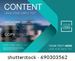 presentation layout design... | Shutterstock .eps vector #690303562
