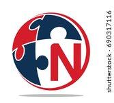 icon logo for business... | Shutterstock .eps vector #690317116