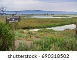 restoration sign in the... | Shutterstock . vector #690318502