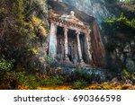 Amyntas Rock Tombs   4th Bc...
