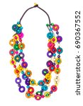 Colorful Necklace Beads...