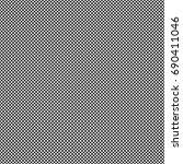 black and white seamless... | Shutterstock .eps vector #690411046