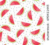 vector seamless pattern with...   Shutterstock .eps vector #690411445