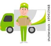 vector illustration of a... | Shutterstock .eps vector #690415468