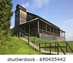 khokhlovka. perm krai. russia.... | Shutterstock . vector #690435442