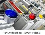 printing solutions  offset... | Shutterstock . vector #690444868