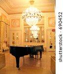 Ballroom With Grand Piano
