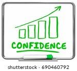 confidence self assured... | Shutterstock . vector #690460792