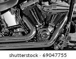 Motor Bike Detail   Engine Block