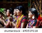 champasak  laos   may 2   laos... | Shutterstock . vector #690519118