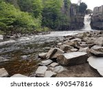 Small photo of High force waterfall ( probably one of the largest in britain )
