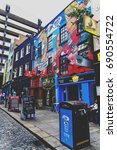 dublin  ireland   july 15th  ... | Shutterstock . vector #690554722
