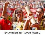 vienna  austria   august 5 ... | Shutterstock . vector #690570052