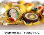 vienna  austria   29 august... | Shutterstock . vector #690597472