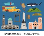 philippines illustration ... | Shutterstock .eps vector #690601948