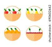 set flat vector illustration. a ... | Shutterstock .eps vector #690602662