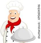vector illustration of a... | Shutterstock .eps vector #690604546