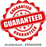 guarantee stamp. | Shutterstock .eps vector #690660448