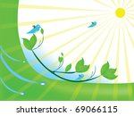 abstract with light | Shutterstock . vector #69066115