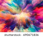 color explosion series.... | Shutterstock . vector #690671836