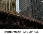 Bridge Over The Chicago River....