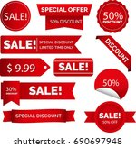 banner ads collections | Shutterstock .eps vector #690697948