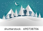 Vector Illustration Of The Sno...