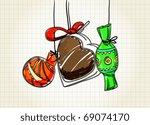 sweets   Shutterstock .eps vector #69074170