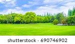 woods  | Shutterstock . vector #690746902