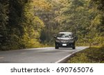 car on the road | Shutterstock . vector #690765076