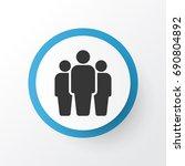 team icon symbol. premium... | Shutterstock .eps vector #690804892