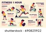 infographic illustration ... | Shutterstock .eps vector #690825922