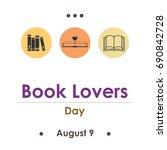 vector illustration for book... | Shutterstock .eps vector #690842728