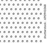 abstract black polka dot...   Shutterstock .eps vector #690941068