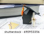 international graduate study... | Shutterstock . vector #690953356