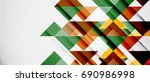 triangle pattern design... | Shutterstock . vector #690986998