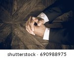 business negotiation skills... | Shutterstock . vector #690988975