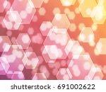 pastel bokeh | Shutterstock . vector #691002622