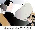 vector illustration of car... | Shutterstock .eps vector #69101065