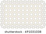 colorful pattern for carpets ... | Shutterstock . vector #691031038