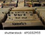 record store | Shutterstock . vector #691032955