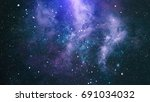 abstract space background | Shutterstock . vector #691034032